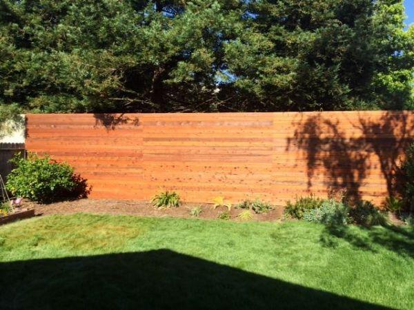 Armstrong Clark Cedar Tone Fence