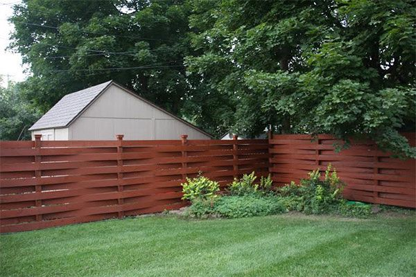 Armstrong Clark Semi Solid Sequoia Brown Fence