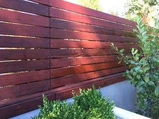 Armstrong Clark Semi Solid Sequoia Brown Fence2