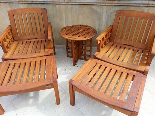 Armstrong Clark Semi Trans Amber on Furniture