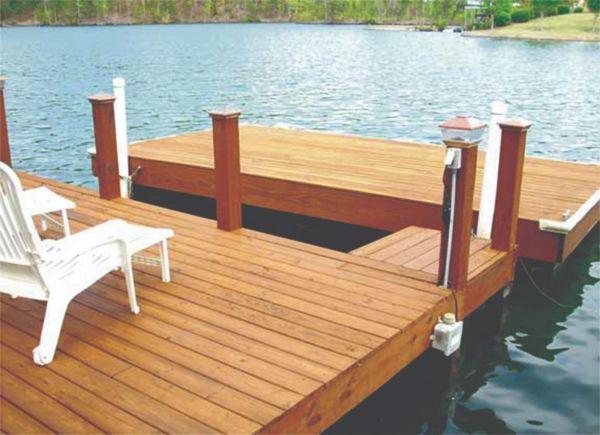 Armstrong Clark Semi Trans Cedar Dock